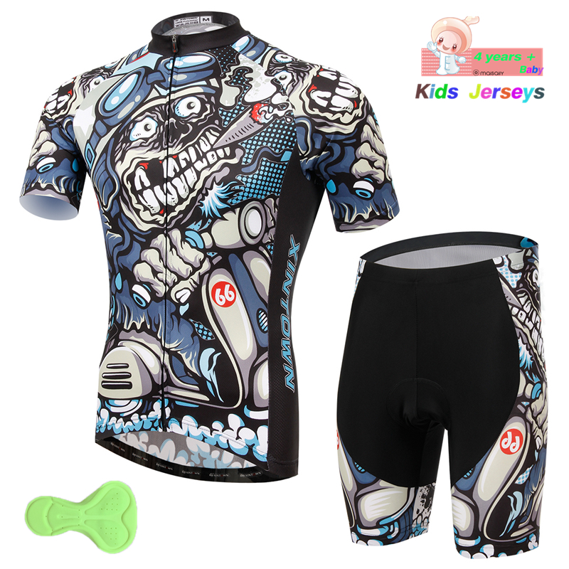 Cool Boys Cycling Clothing Kids Bike Clothing Breathable Anti-UV Bicycle Wear Summer Trekking Short Sleeve Cycling Jersey SetCool Boys Cycling Clothing Kids Bike Clothing Breathable Anti-UV Bicycle Wear Summer Trekking Short Sleeve Cycling Jersey Set