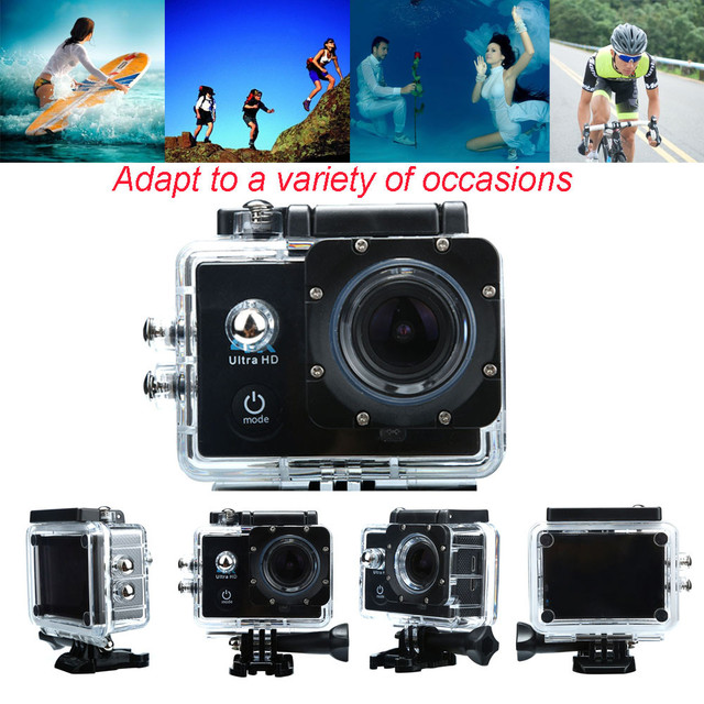 Waterproof Case 4K WIFI Mini Action Cam HD DV Sports Recorder Camera