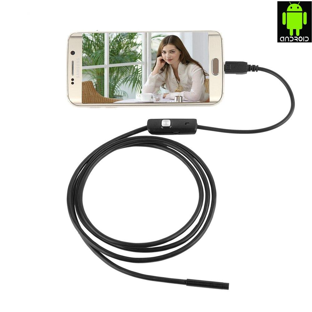 Qualifiziert Endoskop 7mm Objektiv Für Einige Android Telefon Endoskop Wasserdichte 1 Mt 2 Mt 3,5 Mt 5 Mt Micro Usb Otg Endoscoop Kamera Endoskop Endoscopio SchüTtelfrost Und Schmerzen Werkzeuge