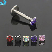 1PC AA Zircon 1.2 * * * * * * * 8mm 316l (China)