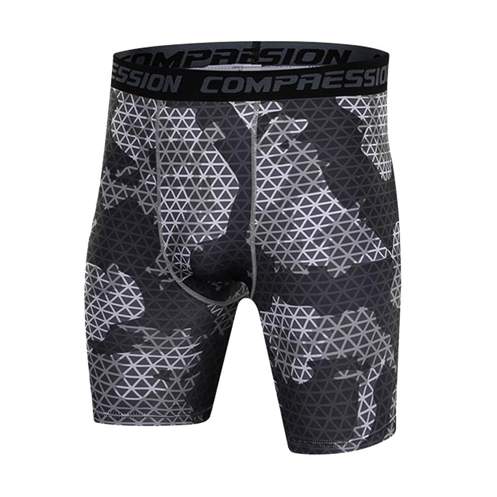 Man's compression Shorts Print...