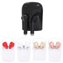 HBQ-I7 TWS Wireless Bluetooth headphone In ear headphones Mini Business office earphone bluetooth headset for mobile phone