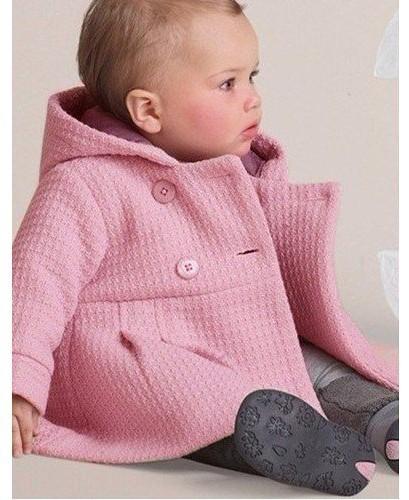 Inverno Nova Chegada Do Bebê Meninas Casacos Casacos Trench Com Capuz Roupas do Sobretudo das Crianças Blusas Outfits Frete Grátis
