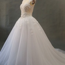 kejiadian Lace Ball Gown Wedding Dresses Court Train gown
