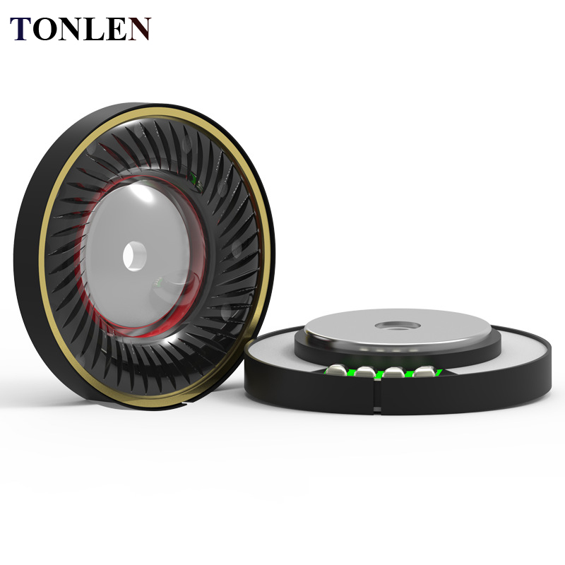 TONLEN 10 pcs 40mm Headphone Speaker Cincin Tembaga hHorn DIY Headphone Unit Untuk Auricular Headphone Nirkabel Bluetooth