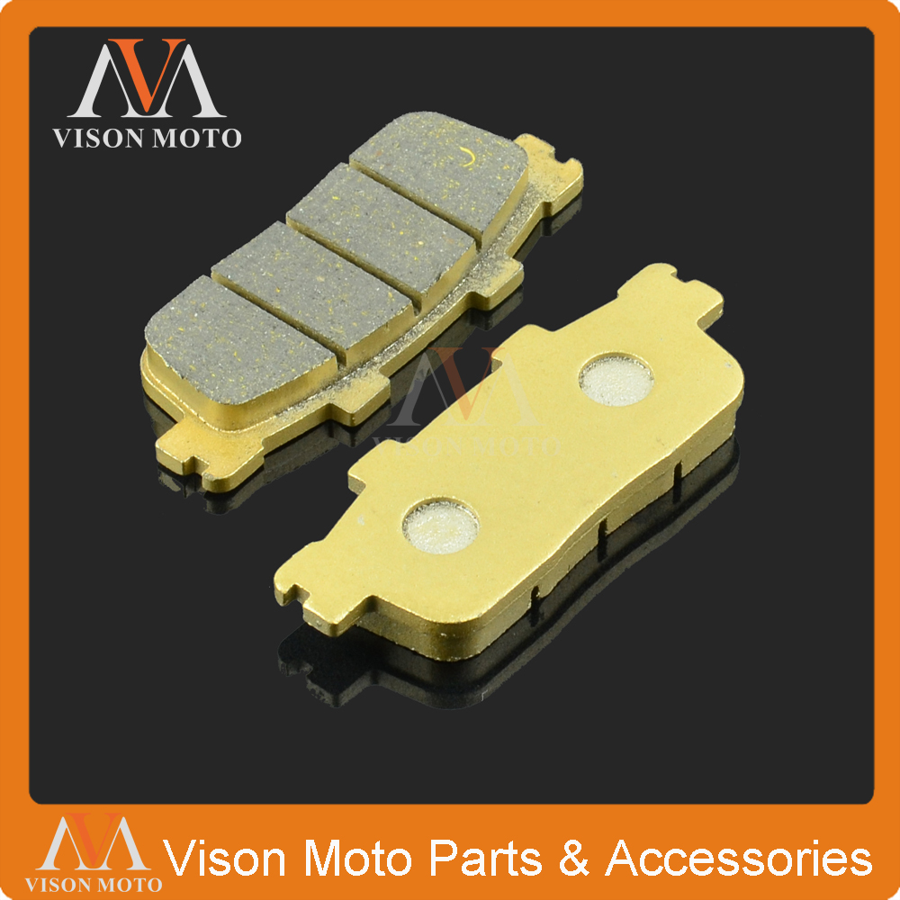 Motorcycle Rear Caliper Brake Pads For KYMCO PEOPLE S 125 DD PEOPLE S 200I DD 07 08 09 10 11 XCITING 250 250I 300I 08 09 10 image