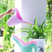 1.8L Стильный Длинный Излив Лейка  Открывающаяся Крышка Растения Цветок Прочный Лейка Чайник