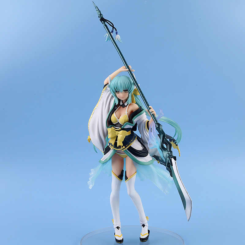 Anime Destino FGO Grande Ordem Kiyohime Lancer 1/7 Escala 2019 NOVO Destino sexy girl Figura PVC Action Figure Collectible Modelo brinquedo
