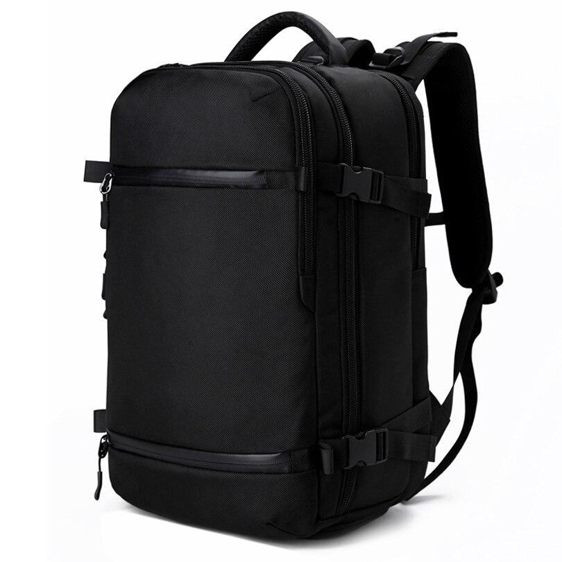 Hommes sac à dos sac de voyage mâle multifonction étanche USB charge bagages sac à dos pour ordinateur portable sac à dos grande capacité cartable