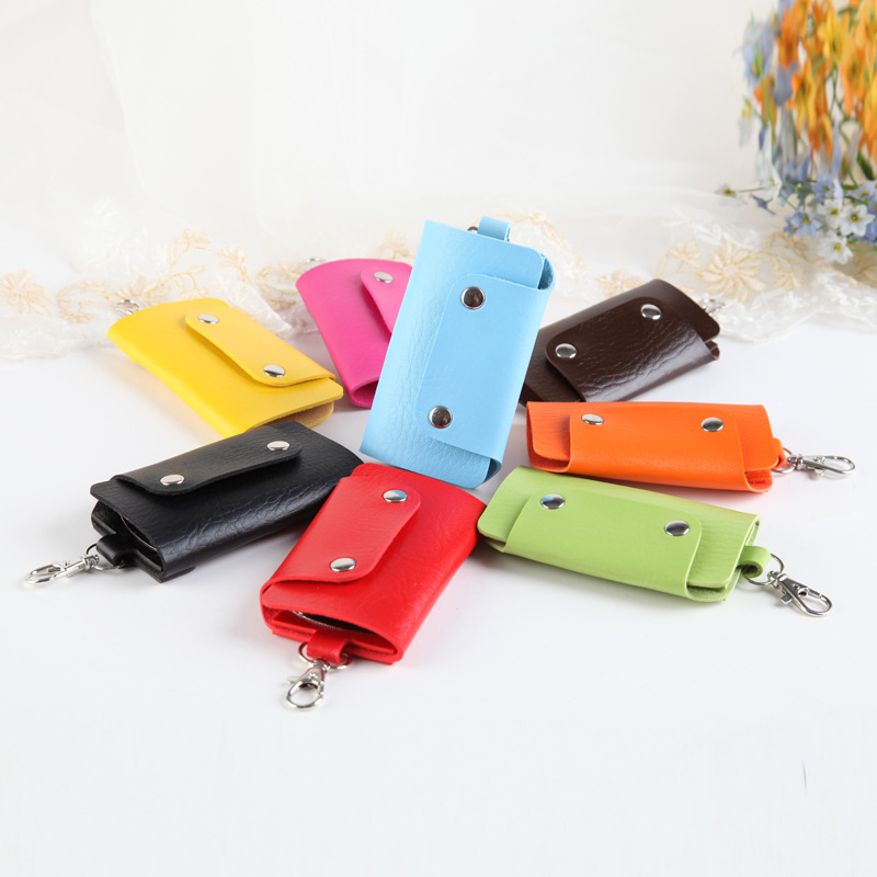 Keychain Case Cover Wallet Key-Holder-Bag PU Car Hot-Sale