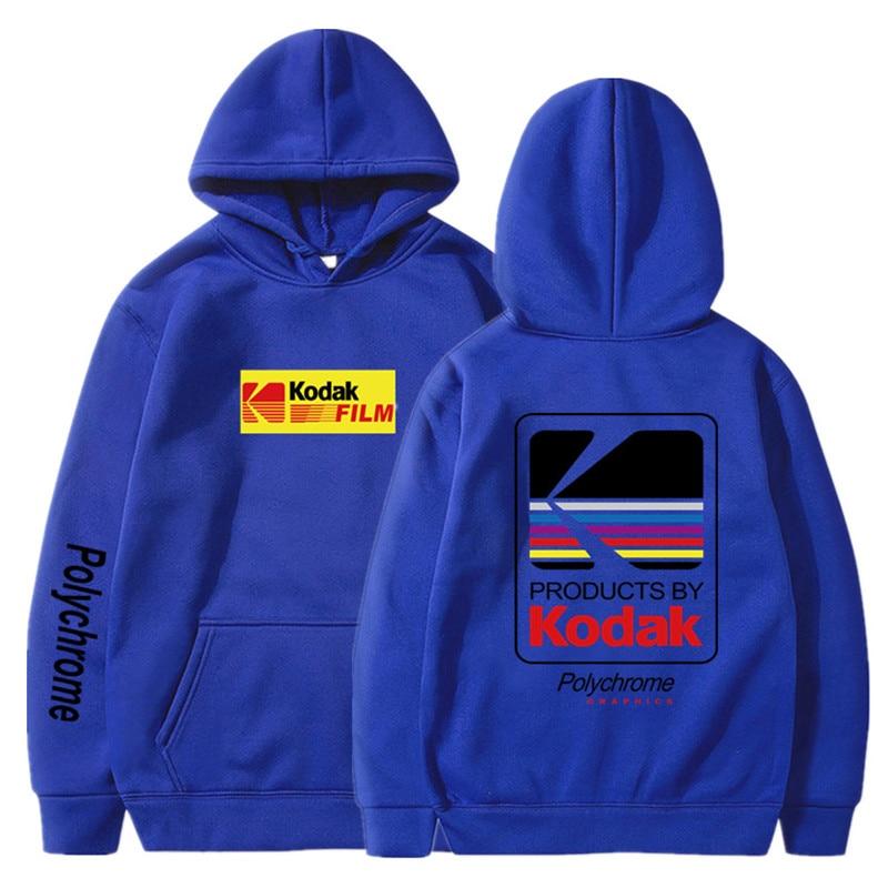 Japanese Hip Hop Winter Fleece Hoody Harajuku kodak Jackets Men Women Sweatshirts 29