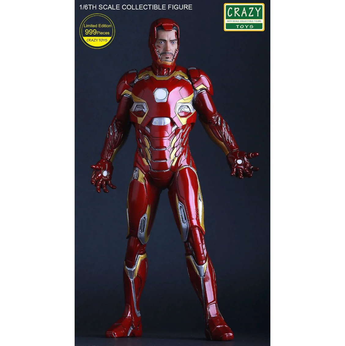 XINDUPLAN Marvel Shield iron Man Avengers Age of Ultron MK45 Limited Edition human face Movable Action Figure 30cm Model 0778 xinduplan marvel shield play arts movie avengers spider man limited edition blue action figure toys 26cm collection model 0494