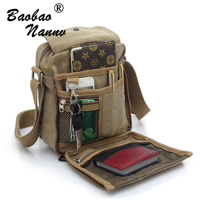 New Arrival Business Men Messenger Bags Canvas Promotional Small Crossbody Shoulder Bag For Male Casual Man Bag