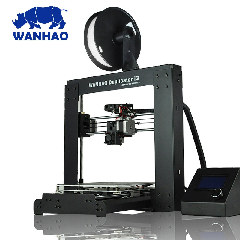 2018 New upgrade WANHAO I3 V2.1 work of prusa professional 3d printer 2018 new upgrade wanhao i3 plus 2 0 wanhao i3 plus mk2 reprap developer prusa wanhao 3d printer with touch screen auto level