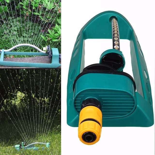 Adjustable Alloy Watering Sprinkler Sprayer Oscillating Oscillator