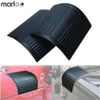 Marloo Black Cowl Body Armor Cowling For 2007 2016 Jeep Wrangler JK Unlimited Rubicon Sahara Accessories