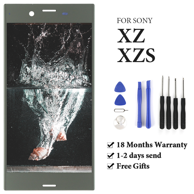 For Sony Xperia XZ LCD Display With Touch Screen With Frame Assembly Replacement For Sony Xperia XZS LCD F8331 F8332 G8231 G8232For Sony Xperia XZ LCD Display With Touch Screen With Frame Assembly Replacement For Sony Xperia XZS LCD F8331 F8332 G8231 G8232