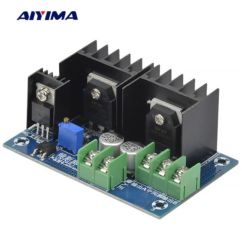 Aiyima 50HZ DC-AC DC12V To AC220V Inverter Module Low Frequency Inverter Power Frequency Transformer Drive Board inverter drive board power frequency transformer driver board dc12v to ac220v home inverter drive board