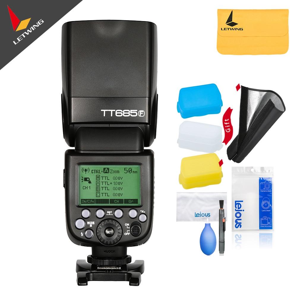 В наличии! Godox Скорость Lite мерцающий tt685f для Fujifilm Камера flash TTL HSS GN60 высокое Скорость 2.4 г для x pro2/1 x t20 X T2 x t1
