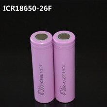 2 ШТ. 18650 аккумуляторной Батареи 3.7 В ICR18650 26F аккумуляторная Батарея 18650 Li-ионная Настоящее Полный 2600 МАЧ Емкость