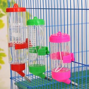 Image 1 - 80 мл 150 мл 250 мл продукт ПЭТ пластиковая Питьевая Бутылка Фидер хомяк кролик вода подвесная бутылка распылитель для воды