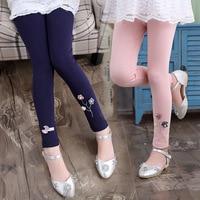 Baby Girl Pants Kids Leggings 2018 New Arrival Spring Autumn Stretch Leggings Girls Children Trousers Cotton