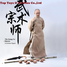 Collectible Figure full set ACE TOYZ 1/6 AT-006 Fung Fu Master Jet Li Action Full Set Gift Toy