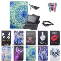 3D Kid Do Not Touch Leather Folding Folio Case For Universal 7 7 9 Inch Wireless