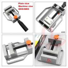 CNC Milling Machine Tool Bench Clamp Jaw Mini Table Vice, Plain Vice( QGG) for CNC Router цены