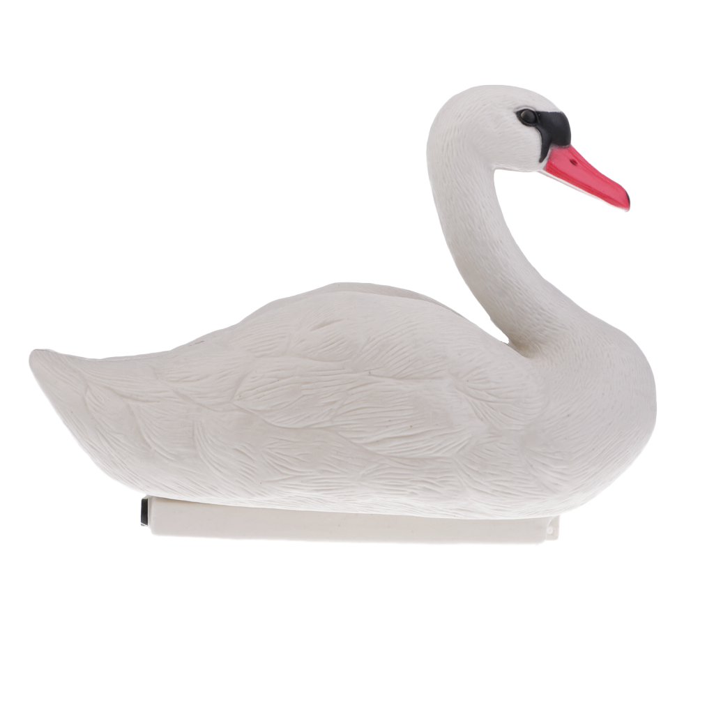 Image 4 - Foldable Floating 3D Swan Hunting Decoy with Weighted Keel Garden Pest Deterrent Repeller Decoration-in Hunting Decoy from Sports & Entertainment