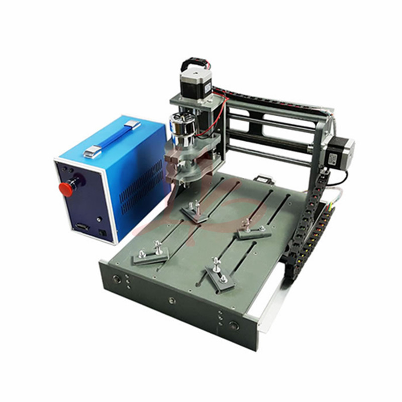 2030-2 in 1 3axis CNC Router with USB port cnc milling machine for DIY hot sale diy cnc 2030 parallel port 4 axis mini wood milling router dc spindle 300w 3 175mm drill tip