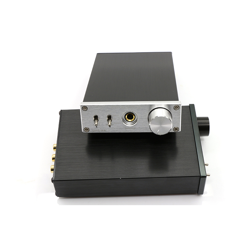 FX-AUDIO DAC-X6 MINI HiFi 2.0 Digital Audio Amplifier Decoder DAC Input USB/Coaxial/Optical Output RCA/ amplificador audio