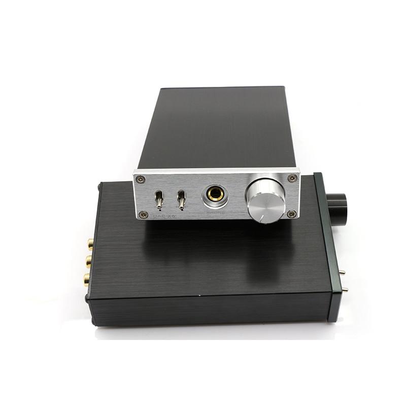 FX-AUDIO DAC-X6 MINI HiFi 2.0 Digital Audio Amplifier Decoder DAC Input USB/Coaxial/Optical Output RCA/ amplificador audio fx audio feixiang dac x6 fever mini hifi usb fiber coaxial digital audio decoder dac 16bit 192 amplifier amp tpa612