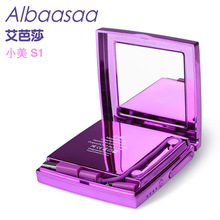 Albaasaa 6000mAh Power Bank Portable External Battery Bateria With Women Cosmetic Compact Mirror & Cellphone mobile power