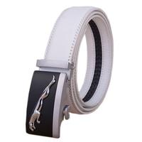 New Arrived Business Fashion Automatic Buckle Men S Belt Luxury Genuine Leather Belt Silver Golden Belts