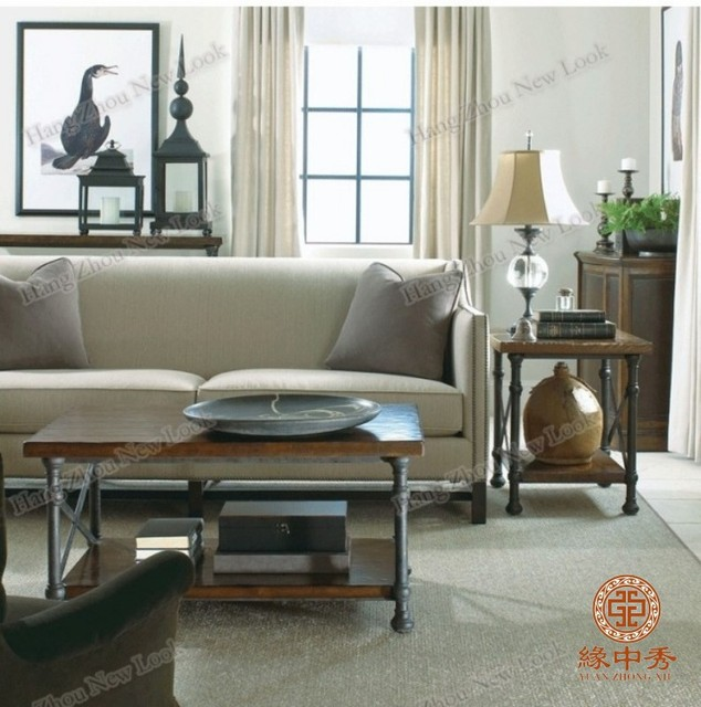 Scandinavian Furniture Outlet LOFT Style Retro To Do The Old Wood Coffee  Table Antique Coffee Table