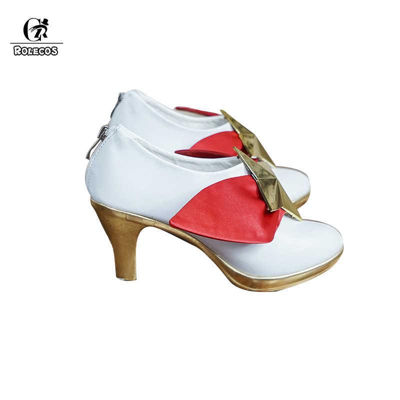 Обувь для косплея ROLECOS Star Guardian LOL; Женская обувь для косплея Miss Fortune