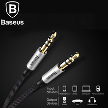 Baseus Audio Cable 3.5mm Jack to Jack Aux Cable for Mobile Phone Jack Male to Male Aux Cable for Car MP3 MP4 Headphone Speaker