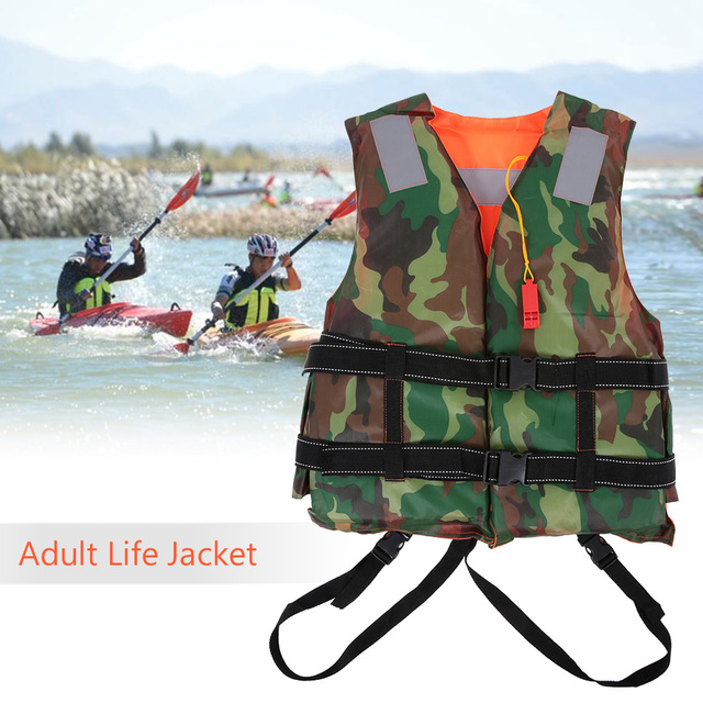 Lixada Professional Life Jacket Adult Life Vest Swimming Marine Life Jackets  Safety Suit Drifting Fishing RU