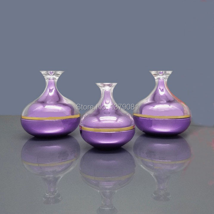 High Quality 5g,10g,30g Acrylic Cream Jar Purple,Pink color Empty Cosmetic Packing Container Goblet shape Sample Tins high quality 5g 10g 30g acrylic cream jar purple pink color empty cosmetic packing container goblet shape sample tins
