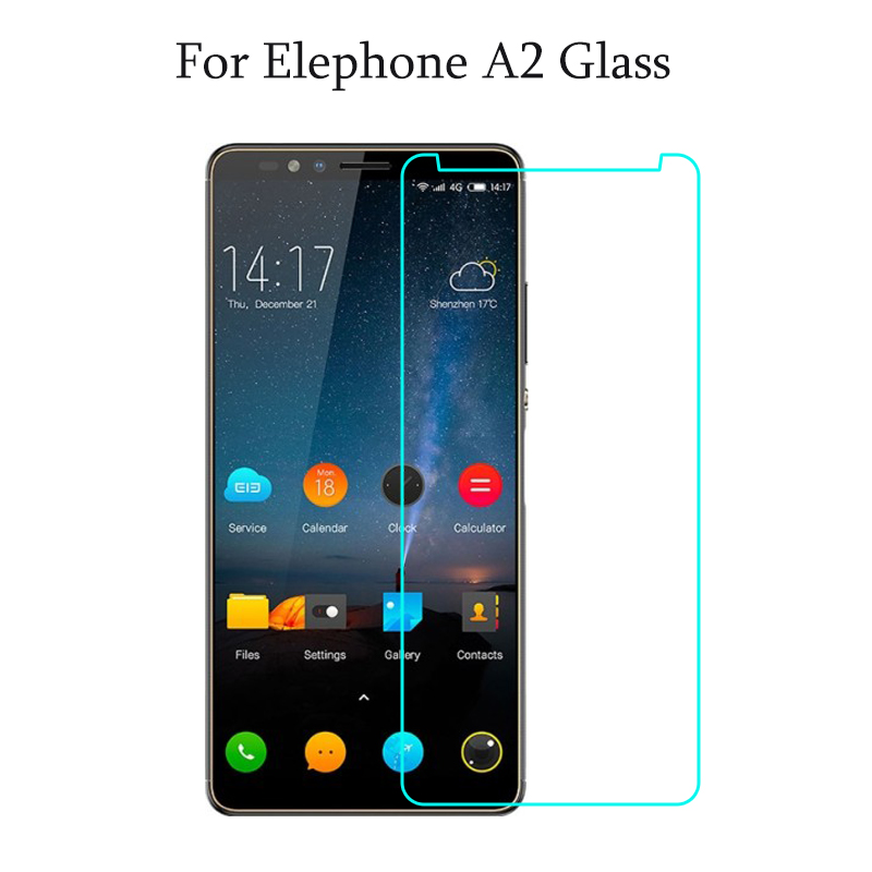 "Screen Protector For Elephone A2 Tempered Glass Screen Protector For Elephone A2 Pro 5.47"" Toughened Phone Glass Cover Film"