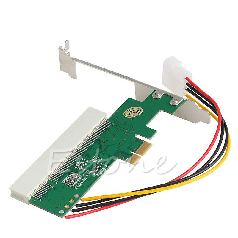High Efficiency 66/33MHZ 4 Pin PCI-Express PCI-E To PCI Bus Riser Card Adapter Converter