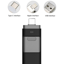 USB Flash Drives Jump Drive Memory Stick, External Storage Memory Expansion for iPhone/iPad/Computers and Type C Devices - Black kingston for lenovo brand notebook computers dedicated memory 100