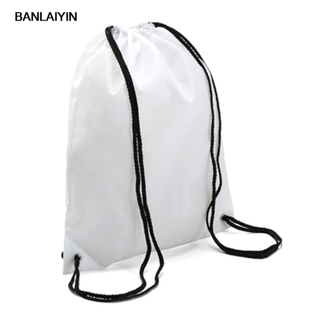 School Drawstring Book Bag Ping Travel Backpack