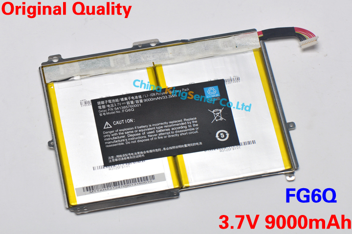 Prix pour 3.7 V 9000 mAh / 33.3WH véritable batterie d'origine pour AMAZON FG6Q 541385760001 Tablet PC livraison gratuite