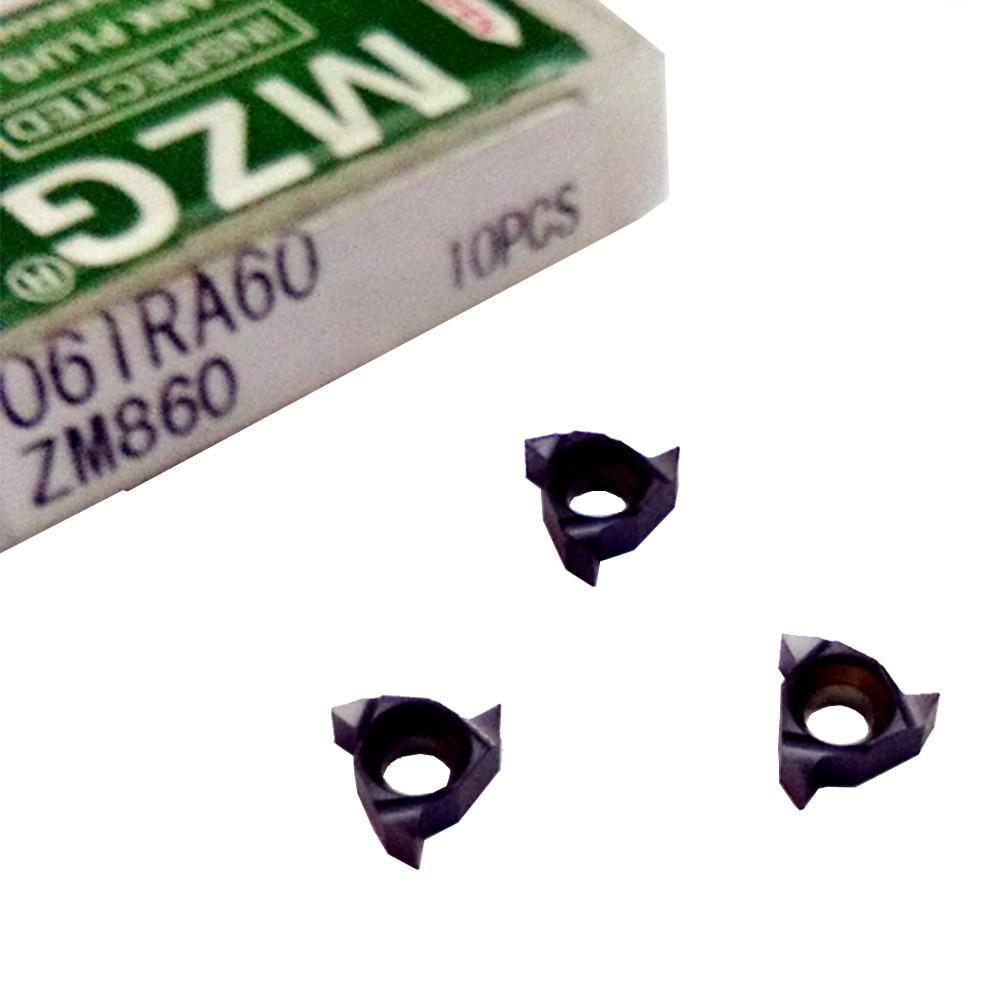 rosca de tungstênio indexáveis usadas para rosqueamento