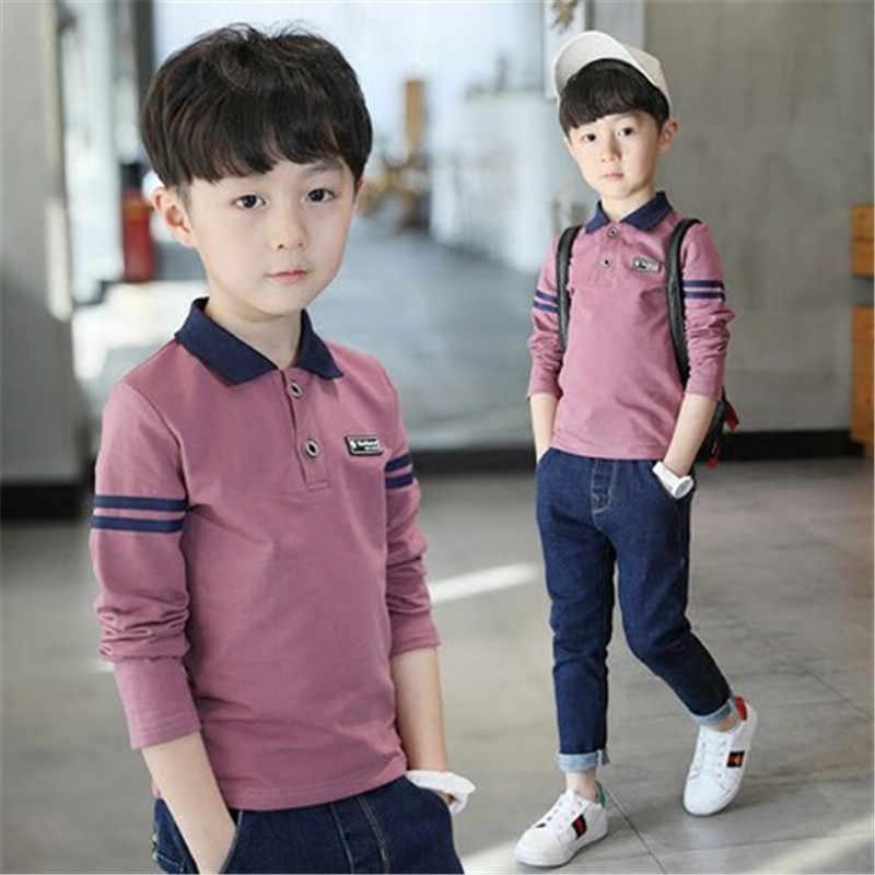 742257c69cff Детские рубашки для мальчиков наивысшего качества, рубашка школьная форма,  одежда для мальчиков, хлопковая