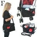 Изоляция Детские Коляски Организатор детские вещи хранения с плечевой ремень водонепроницаемый коляска сумка портативный мать мешок материнства