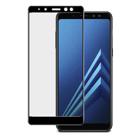 3D Full Cover Cao Cấp Kính Cường Lực Dành Cho Samsung Galaxy Samsung Galaxy A6 A8 Plus A810 A830 Tấm Bảo Vệ Màn Hình HD Màng bảo vệ