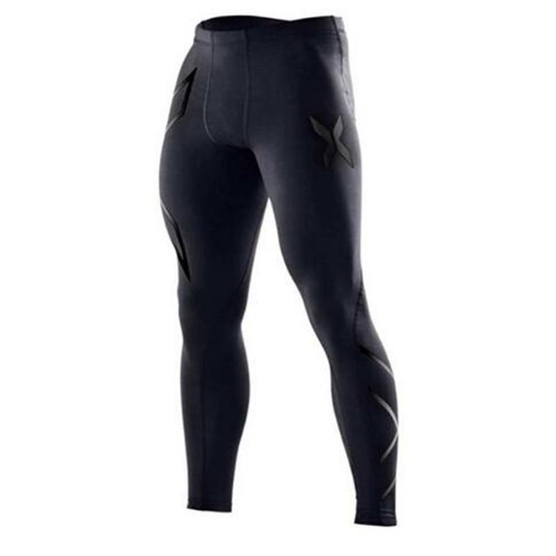 Men Gyms Fitness Bodybuilding Skinny Sweatpants Male Cotton Trousers Casual Fashion Autumn Winter Sportswear Skinny Pant